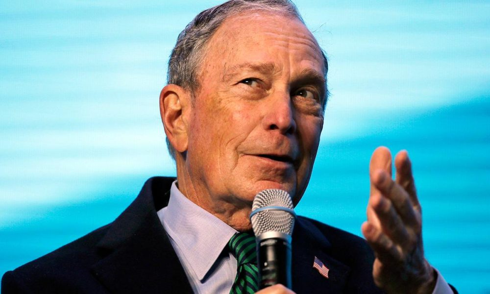 Michael Bloomberg nabs his first congressional endorsement in presidential run