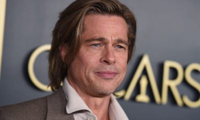 Brad Pitt Wears Nametag At Oscars Luncheon And Twitter Howls