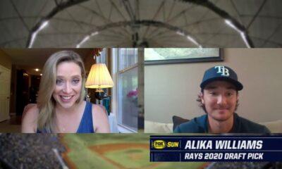 Rays All-Access at Home: 2020 MLB draft pick Alika Williams