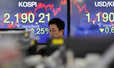 Global Stocks Drop on Gloomy Federal Reserve Outlook – The Wall Street Journal