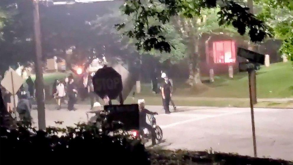 Protesters vandalize Georgia Department of Public Safety headquarters in Atlanta