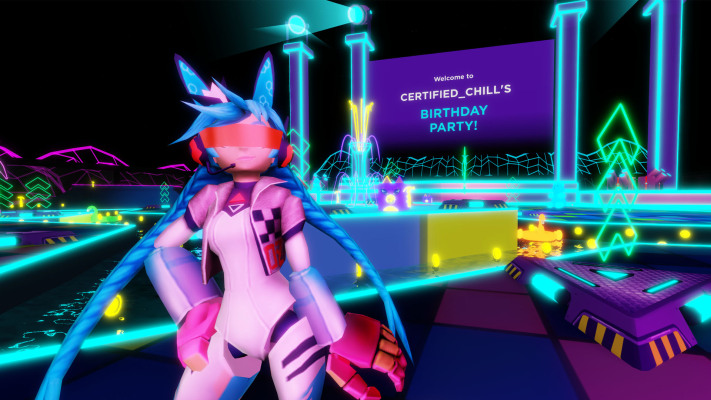 Roblox launches Party Place, a private venue for virtual birthday parties and other meetups