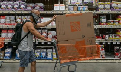 Strong Home Depot Results Show Pandemic's Consumer Spending Shift – The Wall Street Journal