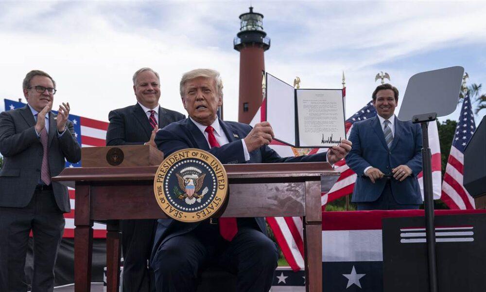 Trump drilling reversal could boost coastal GOP senators